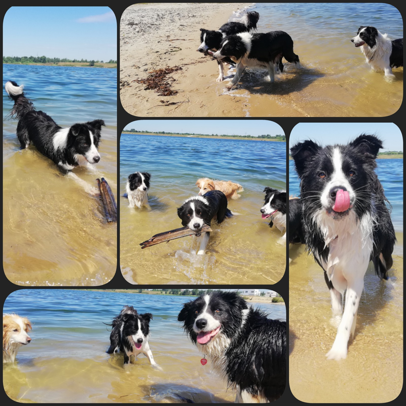Spacer po plaży.